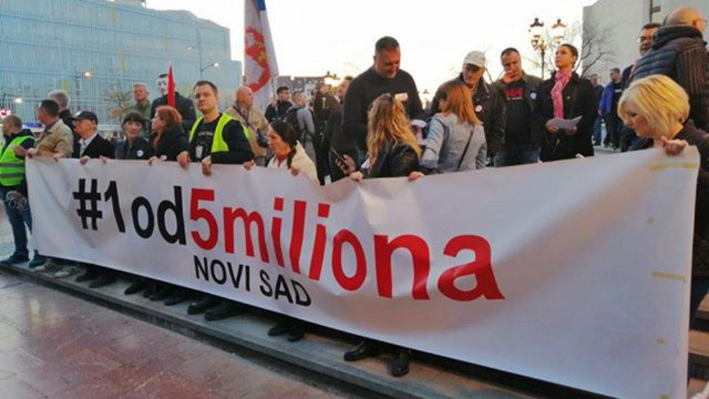 Novi Sad: Lutovac, Tepić i Gajić govornici na protestu 8. juna 1