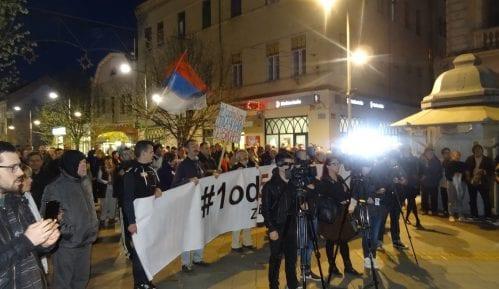 """Protesti """"1 od 5 miliona"""" održani u više gradova Srbije (FOTO) 12"""