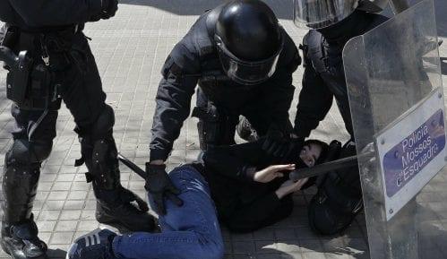 U Barseloni pet povređenih u sukobu demonstranata 11