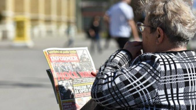 Dveri: Sud potvrdio presudu protiv urednika dnevnog lista Informer 1