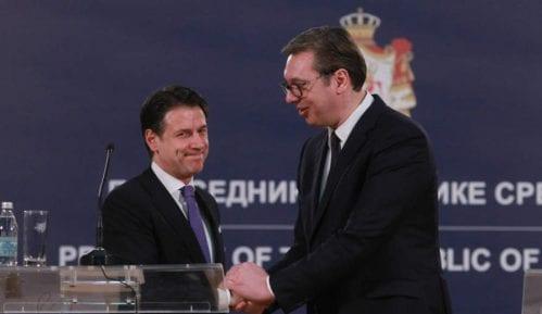 Vučić i Konte: Italija će biti ambasador Srbije na njenom putu ka EU 10