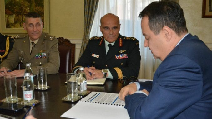Dačić: Važna uloga Kfor-a na Kosovu 1