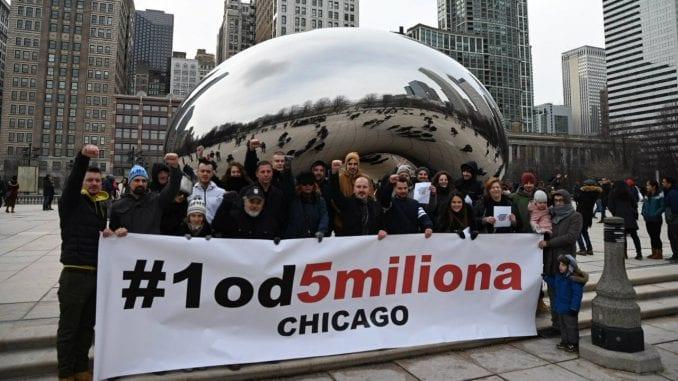 Prva šetnja #1od5miliona u Čikagu (VIDEO) 1
