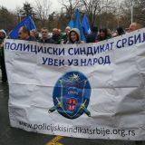 Održan protest Policijskog sindikata ispred sedišta MUP-a 15
