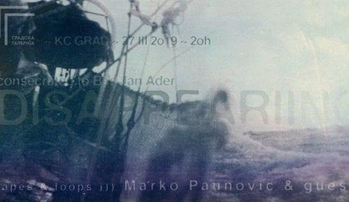 Multimedijalni perfomans Marka Paunovića u KC Grad 27. marta 12