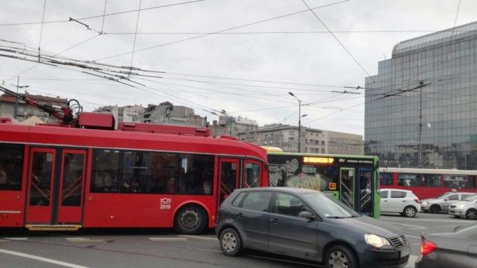 Mladenović: Od 1. aprila skraćene linije trolejbusa 1