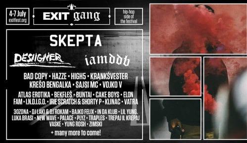 Egzit: Hip-hop festival uz Skeptu, IAMDDB, Desiigner i preko 70 izvođača 15