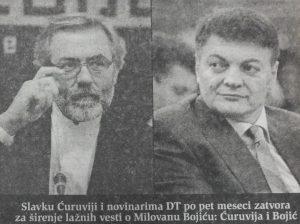 Danas (1999): Ćuruvija osuđen, Toni Bler preti Miloševiću Hagom 3