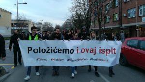 """Protesti """"1 od 5 miliona"""" održani u više od 25 gradova Srbije (FOTO, VIDEO) 11"""