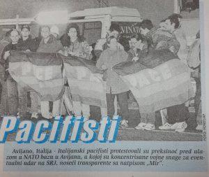 Danas (1999): Proglašeno vanredno stanje, 12 sati pred bombardovanje 2