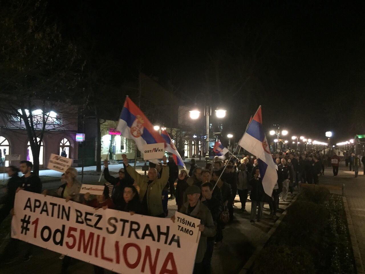 Protesti 1 od 5 miliona u više gradova (VIDEO, FOTO) 21