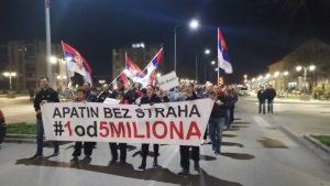 """Protesti """"1 od 5 miliona"""" održani u više od 25 gradova Srbije (FOTO, VIDEO) 15"""