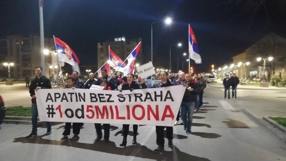 Građanski front: Osuda pritisaka na aktiviste iz Apatina 1