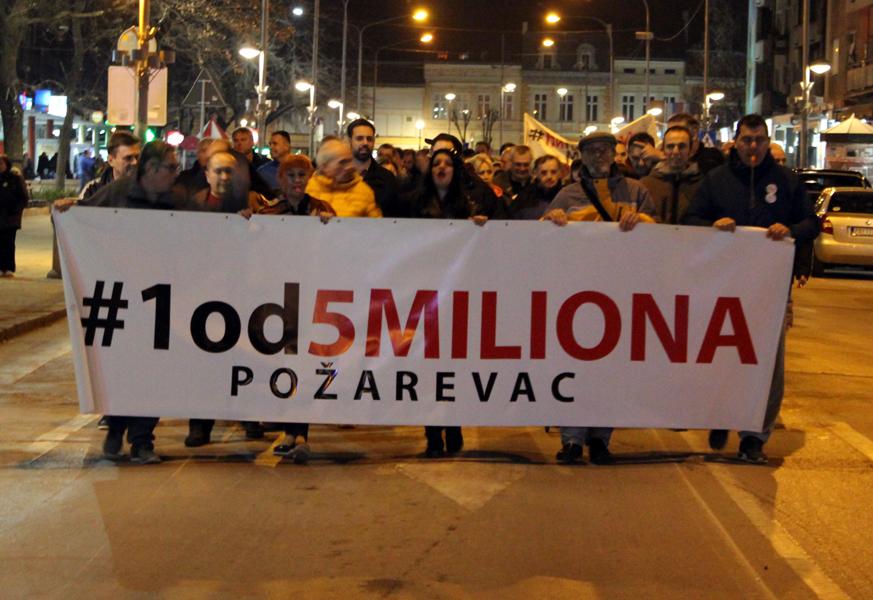 Protesti 1 od 5 miliona u više gradova (VIDEO, FOTO) 11