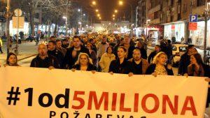 """Protesti """"1 od 5 miliona"""" održani u više od 25 gradova i opština (FOTO, VIDEO) 15"""