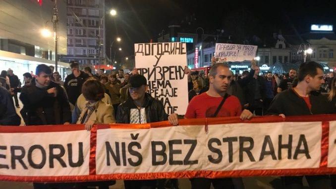 """Niš: Vlado Georgijev govornik na večerašnjem protestu """"1 od 5 miliona"""" 3"""