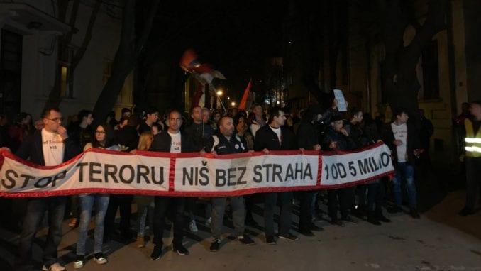 "Niš: Protest ""Stop teroru - Za Niš bez straha"" 8. juna 2"