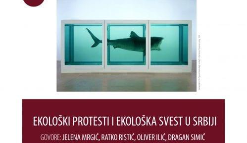 """Tribina """"Nije filozofski ćutati"""" o ekološkim protestima 14. marta na Filozofskom fakultetu 12"""