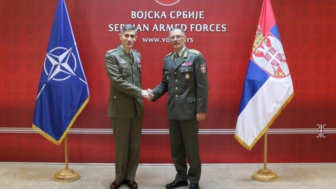 Susret načelnika Generalštaba s komandantom KFOR-a 1