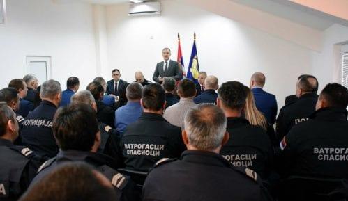 Stefanović otvorio novu policijsku stanicu u Aleksandrovcu 15