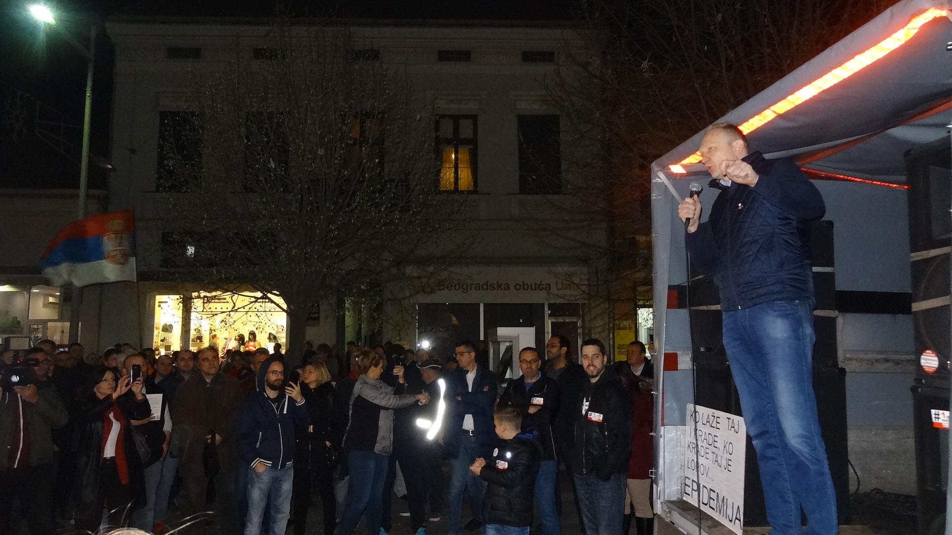 """Protesti """"1 od 5 miliona"""" u više gradova Srbije (VIDEO, FOTO) 2"""