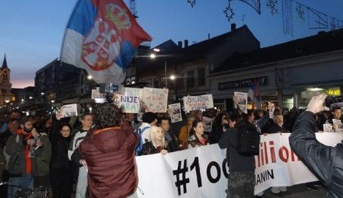 """Protesti """"1 od 5 miliona"""" u više gradova Srbije (VIDEO, FOTO) 5"""