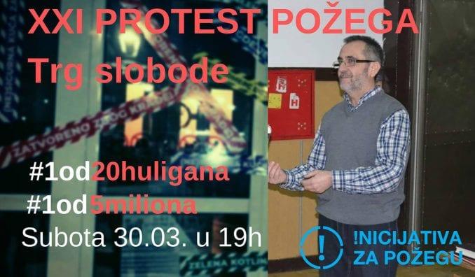 Javni čas profesionalne etike i građanskog dostojanstva 30. marta na protestu u Požegi 1
