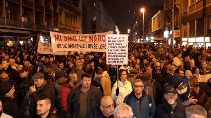 """Protest večeras """"ulicama laži Aleksandra Vučića"""" (VIDEO) 1"""