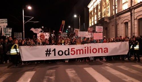 "Deveti protest ""Jedan od pet miliona"" u Gornjem Milanovcu 8. marta 6"
