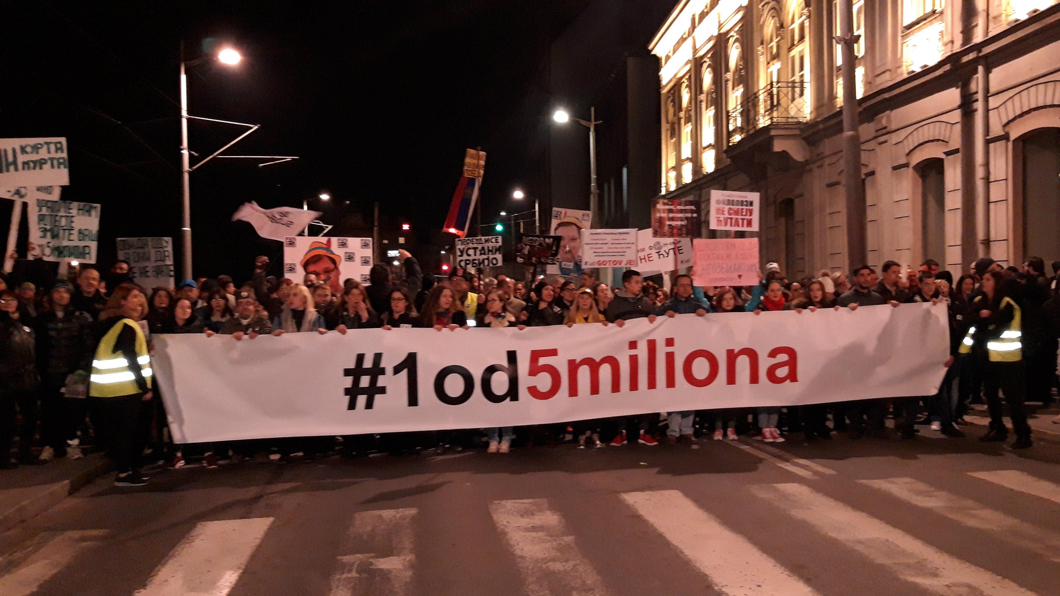 """Protest večeras """"ulicama laži Aleksandra Vučića"""" (VIDEO) 4"""