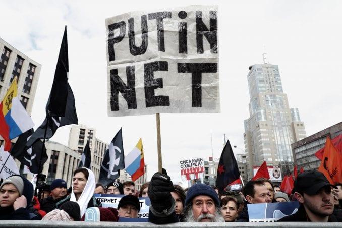 U Moskvi protest zbog nacrta zakona o internetu (VIDEO) 14