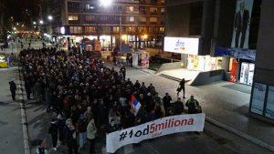 """Protesti """"1 od 5 miliona"""" održani u više od 25 gradova i opština (FOTO, VIDEO) 14"""