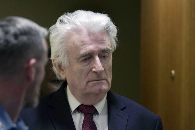 Odbijen zahtev Karadžića za diskvalifikovanje sudija 1