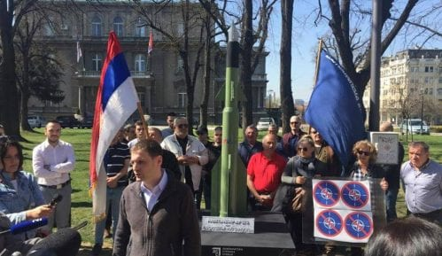 DSS: Raketa ispred predsedništva 11