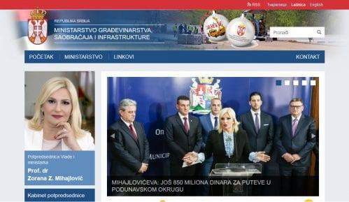 Sajt Ministarstva građevinarstva, saobraćaja i infrastrukture ubuduće i na romskom jeziku 3