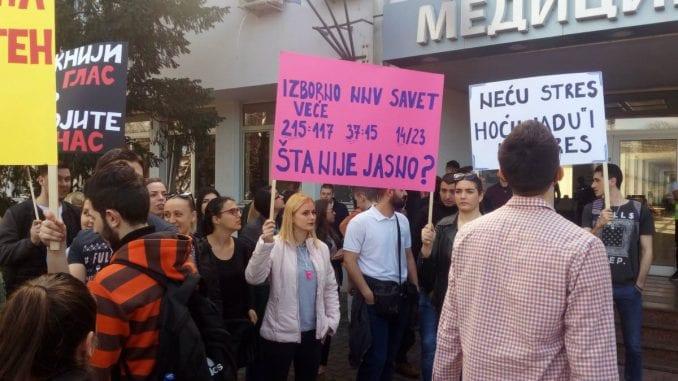 Novi Sad: Studenti traže da vlast odblokira Medicinski fakultet 1