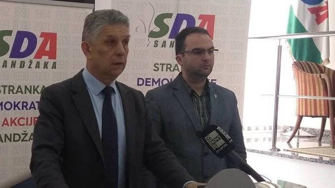SDA Sandžaka izlazi na izbore 1