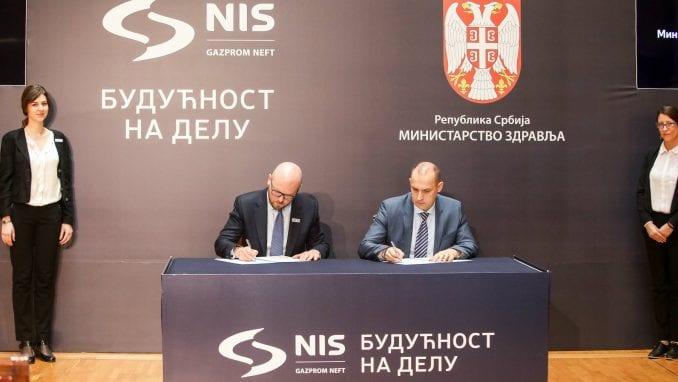 Kompanija NIS ulaže oko milion evra u zdravstvene institucije širom Srbije 2