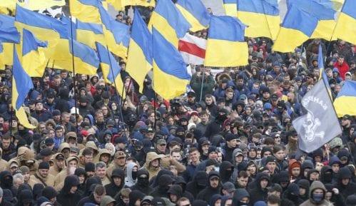 Oko 5.000 desničara protestovalo u Kijevu zbog korupcije 2