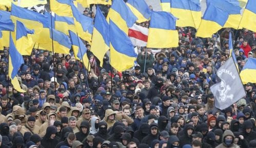 Oko 5.000 desničara protestovalo u Kijevu zbog korupcije 12