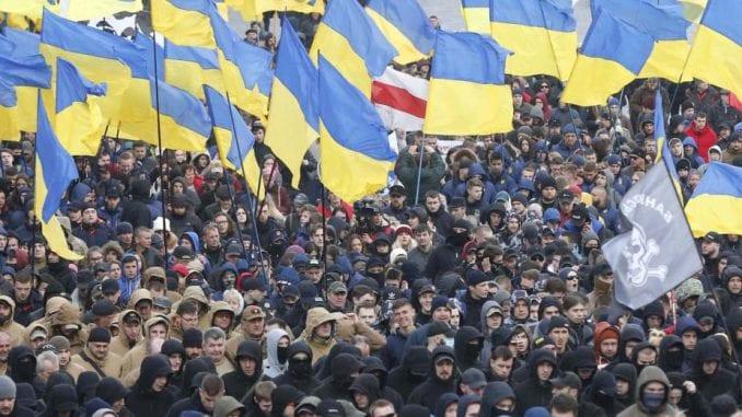 Oko 5.000 desničara protestovalo u Kijevu zbog korupcije 1