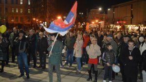 """Protesti """"1 od 5 miliona"""" održani u više od 25 gradova Srbije (FOTO, VIDEO) 18"""