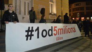 """Protesti """"1 od 5 miliona"""" održani u više od 25 gradova Srbije (FOTO, VIDEO) 19"""