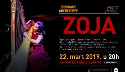 Koncert mlade harfistkinje Zoje Đorđević 3