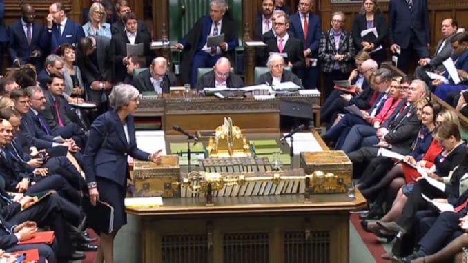 Britanski parlament ponovo odbio sporazum o Bregzitu 1