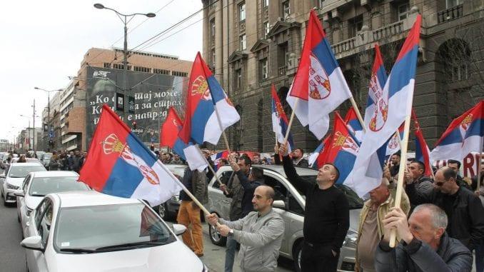 CarGo blokirao ulice kod Vlade 1