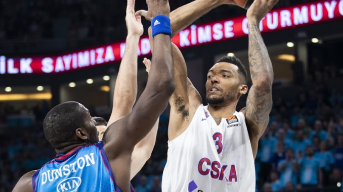 Košarkaši CSKA pobedili Efes u Evroligi 1
