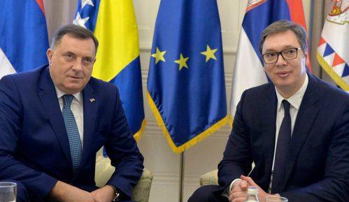 Dodik sa Vučićem u Mostaru o obnovi Saborne crkve 12