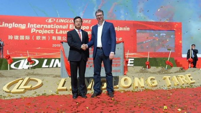 """Vučić: Dolazak """"Šangdong Linglong"""" znači više puteva i izgradnju brzih saobraćajnica 1"""