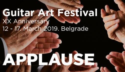 """""""Guitar Art"""" festival od 12. do 17. marta u Kombank dvorani 3"""